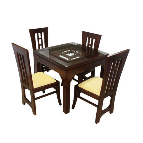 Dining Set Revol 4 Seater Mahogany Arpico Furniture