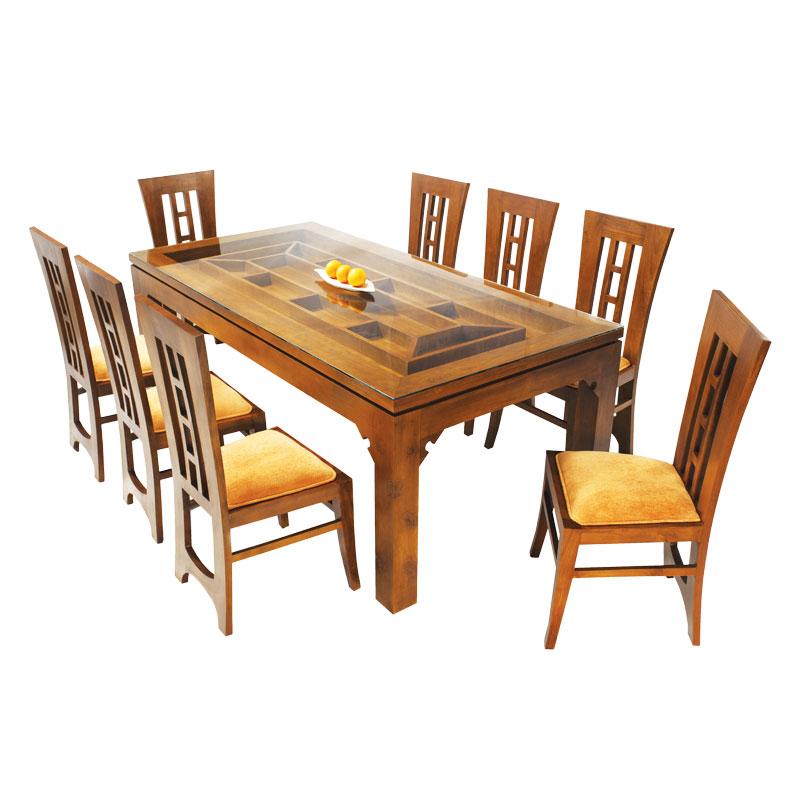 Dining Set Saffron 08 Seater Teak Arpico Furniture