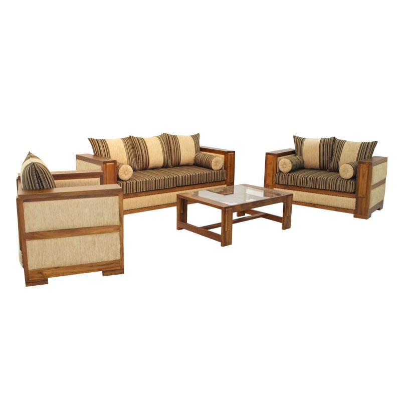 Living Room Set Denso Teak Arpico Furniture