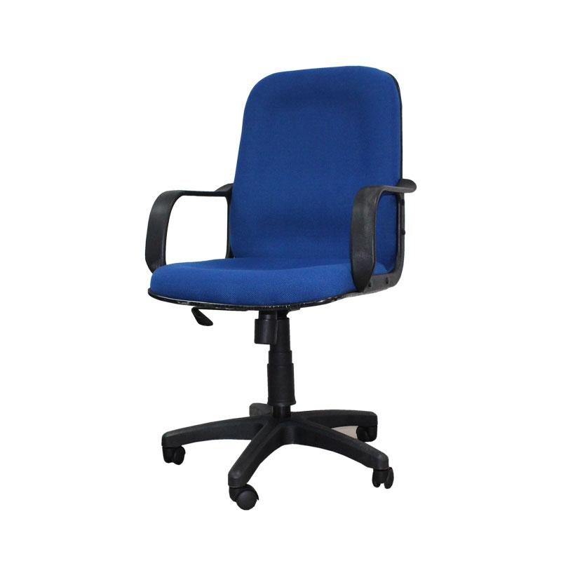 Office Chair Medium Back Blue Arpico Furniture