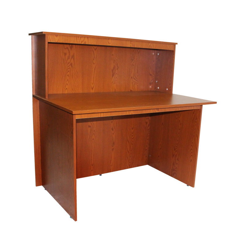 Cashier Table Sapele Arpico Furniture