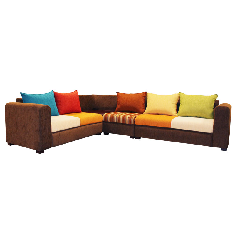 L Sofa Travon Fabric Arpico Furniture