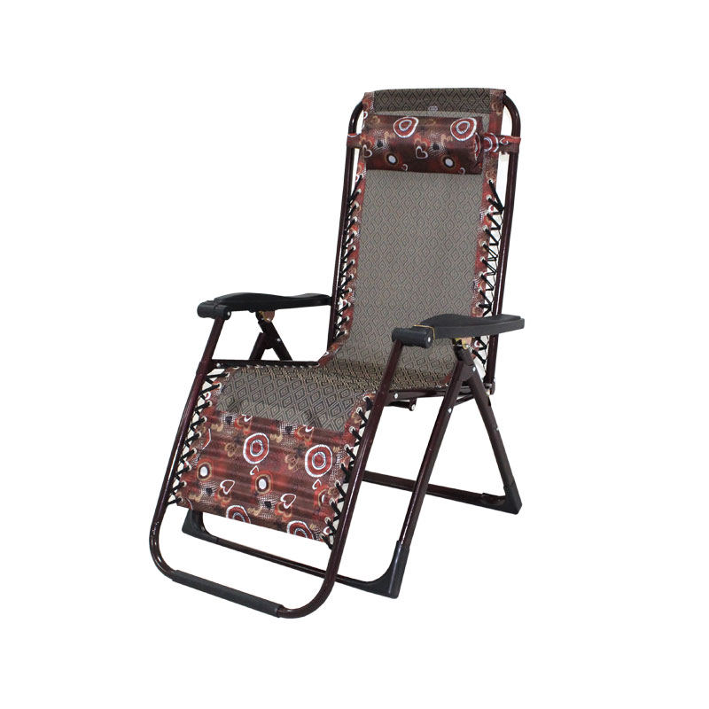EASY CHAIR| ADJUSTABLE | COFFEE BROWN